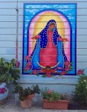 """La Virgencita"" by Patricia Rose in Balmy Alley. San francisco, CA, May 2016"