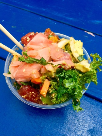 Best Poke bowl from Poke-Poke on Venice Beach! Los Angeles, CA, May 2016