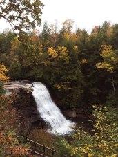 View of Muddy Creek Falls.