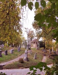Cemetery in Rock Creek Park.
