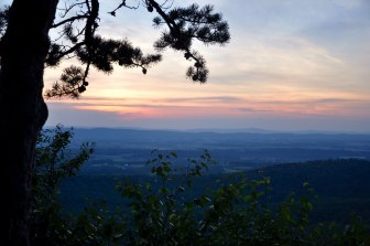 Sunset at Sugarloaf.