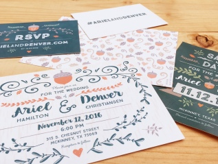 Wedding Branding + Collateral