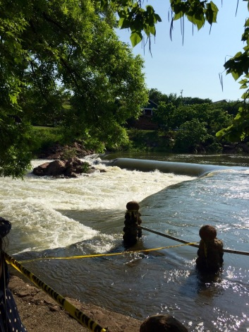 Swollen river! | Medicine Park, OK
