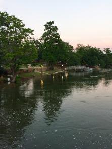 Swollen river. | Medicine Park, OK